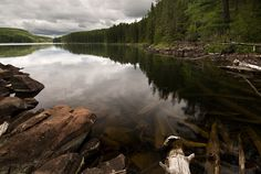 there is nothing sweeter than the clear reflections of the bwca.