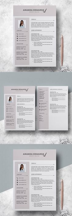Write,rewrite and design a good ats resume, cover letter, writing - 3 resume formats