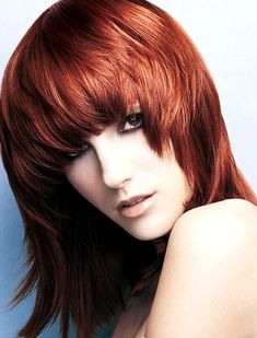 4. #Choppy Bangs - 11 #Kinds of Bangs and Ways to Rock Them ... → Hair #Flirty