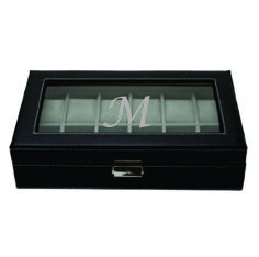 Custom Engraved Leather Watch Box - Kustom Products Inc