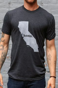 "Home t-shirt. I love this idea! I have so many different ""home""s though that the shirt would be over flowing lol"