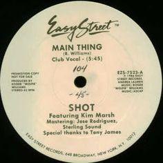 Funk-Disco-Soul-Groove-Rap: Shot Featuring Kim Marsh - Main Thing.