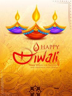 Burning Diya On Happy Diwali Holiday Background For Light Festival Of India Stock Vector - Illustration of hindu, deepavali: 100961175 Happy Diwali Wishes Images, Diwali Wishes Quotes, Happy Diwali Wallpapers, Diwali Festival Of Lights, Diwali Lights, Diwali Pooja, Diwali Diya, Diwali Greeting Cards, Diwali Greetings