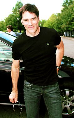 Thomas Gibson. Oh, hey there Hotch... Criminal Minds
