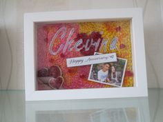 Paperquilling in Frame for gift