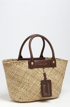 MARC BY MARC JACOBS 'Preppy' Straw Tote.  This is it!  The straw handbag of my dreams!