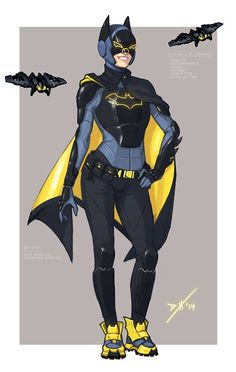 Batgirl Redesign by Daniel Heard