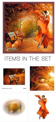 """""""Dance for Autumn"""" by thenycbaglady ❤ liked on Polyvore featuring art"""