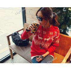 Fashion Long Sleeve Knit Sweater Knitwear Outwear for Girl Women Lady NDD-55336