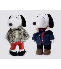 Snoopy and Belle for #IsabelMarant