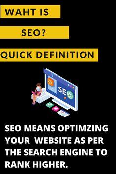 A short and quick definition of Search Engine Optimization. #seoul #seo #SeokJin #seohyun #seoulfashionweek #Seolhyun #seotips #seomarketing #seoservices #seoproblems #seoulkorea #seoexpert #seoulfashion #seoulsecret #seojuhyun #seoagency #seoulfood #seoconsultant #seokmin #seostrategy #seoulcafe #seoultrip #SEOtools #Seoraksan #seobaby #seocompany #seolady #seoultattoo #seoultower #seojoohyun
