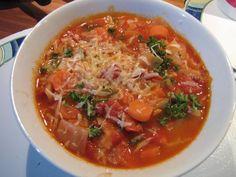 Rezept: Tomaten-Paprika-Kohlsuppe