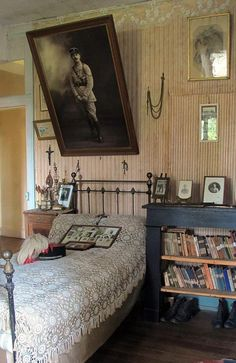 Family requested that the room remain memorialized for 500 years.  1918.  France.  #history #rememberance