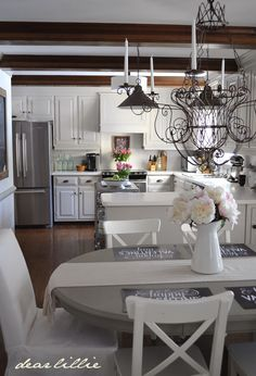 Dear Lillie kitchen is part of this beautiful home tour