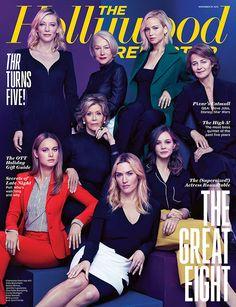 Jennifer Lawrence, Cate Blanchett, Kate Winslet, Jane Fonda, Carey Mulligan, Brie Larson, Helen Mirren, Charlotte Rampling