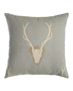 Forester Deer Pillow at Horchow.
