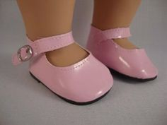 Shiny Patent Pink Dress Shoes for the 18 Inch Doll Made for the American Girl Doll by Olivia's Doll Closet. $5.85. A great gift for your children ,your friends and yourself. check out our many other styles and colors. Package includes: 1X 18 inch Doll shoes (Doll not included, only the shoes). Pair of Shiny Patent Pink Dress Shoes for the 18 Inch Doll Made for the American Girl Doll. Handcrafted Especially for Olivia's Doll Closet to fit the 18 inch Doll like Americ...