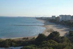 Vistas a la playa de Benicassim