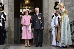 La celebración de los 70 años del Rey de Suecia