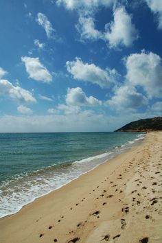 Spiaggia di Santa Margherita #Sardegna #Pula