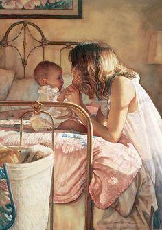 """Steve Hanks, """"Mother & Child Bond"""""""