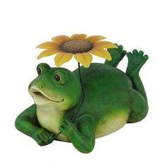 14 5 In H Frog Garden Statue Garden Decor And More 400 x 300
