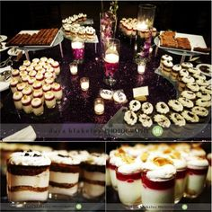 The most DELICIOUS dessert bar (from the Umstead's Super Talented Pastry Chef) via @A Southern Soiree