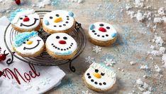 Μπισκότα χιονανθρωπάκια Desserts, Recipes, Food, Tailgate Desserts, Deserts, Essen, Postres, Meals, Dessert