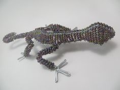 African Beaded Wire Creations...Made with glass seed beads and wire...