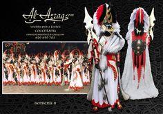 """Traje africano especial fiestas moros y cristianos """"Berberís II"""""""