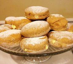 GOGOȘI de post, la cuptor – umplute cu NUCĂ și GEM Granola, Donuts, Hamburger, Biscuits, Deserts, Muffin, Sweets, Bread, Healthy Recipes