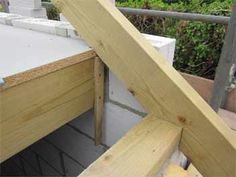 Find out how to cut a Birdsmouth joint and how to fix rafters and joists to wall plates in traditional roofing methods. Cutting a birdsmouth depends on the pitch angle of the roof Roof Joist, Roof Trusses, Home Improvement Loans, Home Improvement Projects, Framing Construction, Diy Roofing, Shed Roof, House Roof, Lean To