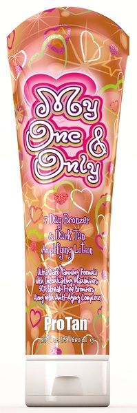 ProTan My One & Only® 7 Day Bronzer & Dark Tan Amplifying Lotion