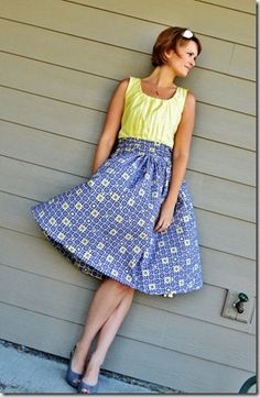 The Monday Blog: A Gathered Dress