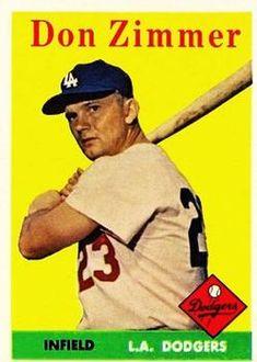 baseball cards don zimmer 1958 | ... set name 1959 topps ...