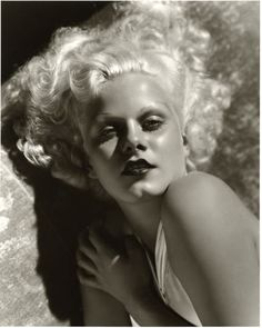Jean Harlow by George Hurrell, 1933 © John Kobal Foundation