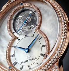 Jaquet Droz Grande Seconde Tourbillon Mother-of-Pearl dial - Perpetuelle - Copy