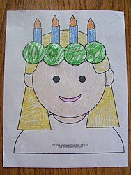 St Lucia Crafts for Catholic Kids