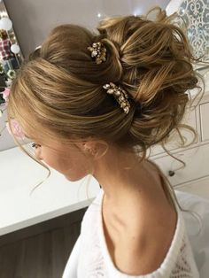 cool Wedding Hairstyles for Long Hair from Tonyastylist / www.deerpearlflow......