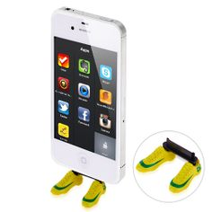 FIFA World Cup Shoes Plug for iPhone 4 & iPhone 4S #fifa #worldcup #shoes #iphone #case #football #plug #iphone4plug $3.45