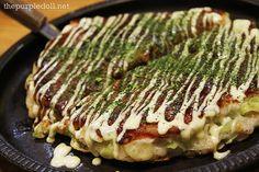 Negiyaki Okonomiyaki from Kagura, Little Tokyo
