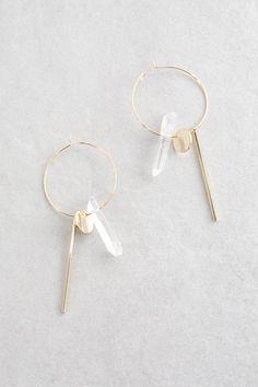 Lovoda - Tova Hoop Earrings, $15.00 (https://www.lovoda.com/tova-hoop-earrings/)
