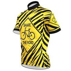 Share The Road Mens Cycling Jerseys Cycling Jerseys, Cycling Equipment, Cycling Bikes, Road Cycling, Cycling Tops, Mountain Bike Shoes, Mountain Bicycle, Buy Bike, Bike Run