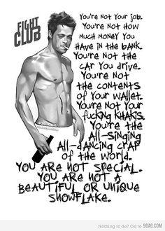 Gotta love fight club quotes!