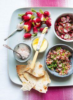 Prepara esta deliciosa receta de mezze de rábano e impresiona a tus invitados con su increíble sabor.