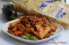 Paccheri alla parmigiana