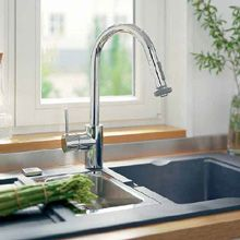 Hansgrohe Talis S² Variarc Single lever kitchen mixer with pullout spray 1/2 chrome - 14877000