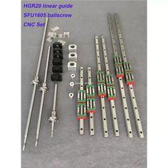 Square Linear guide rail 6 set – ballscrew + – + CNC part Vis A Bille, App Store, Cnc Plasma Table, Cheap Electronics, Diy Cnc Router, Cnc Parts, Computer Security, Cool Technology, Cnc Machine
