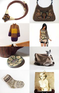 Couleurs d'automne by muriel on Etsy--Pinned+with+TreasuryPin.com
