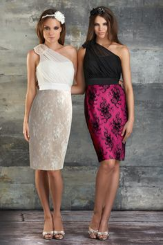 Style 679: Bridesmaids, Prom, Special Occasion & Evening: Bari Jay and Shimmer